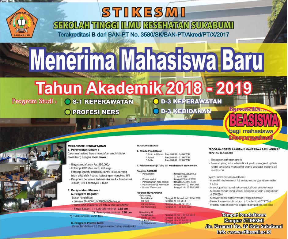 PENDAFTARAN MAHASISWA BARU 2018/2019 2
